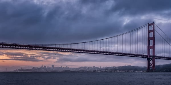 A View Of San Francisco, Panorama Photography Art | Carol Brooks Parker Fine Art Photography