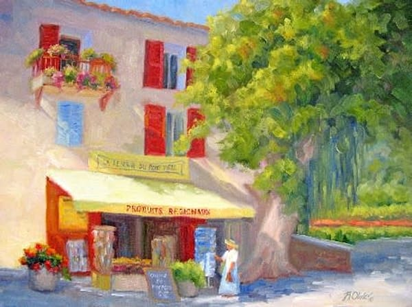 Postcard From Provence Art | B. Oliver, Art