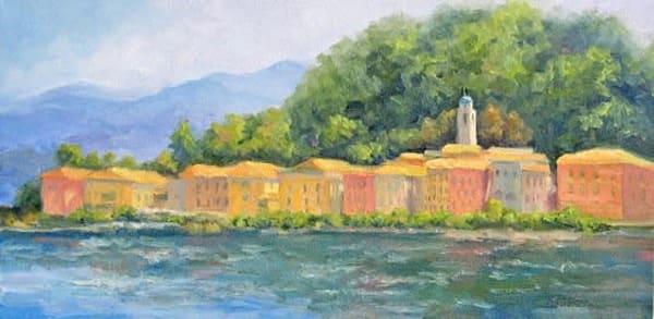 Bellagio   Pearl Of Lake Como Art | B. Oliver, Art