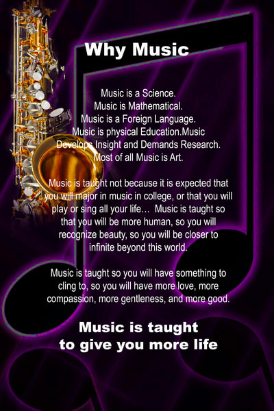Sax Poster Dark Why Music 115