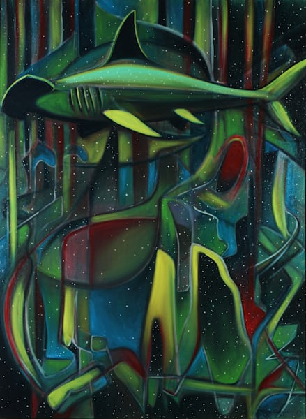 Abstract Hammerhead Art for Sale