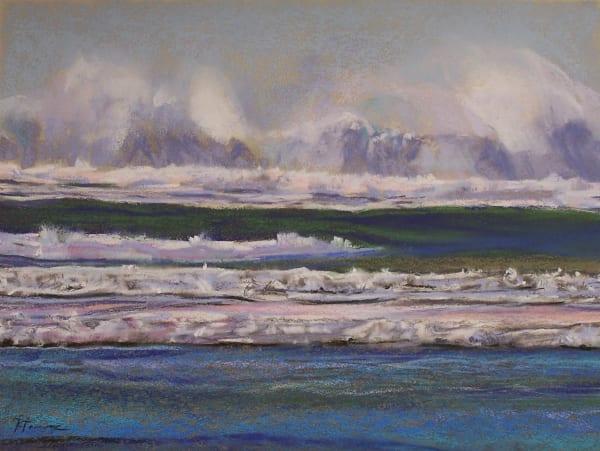landscape painting oregon coast pacific coast trail