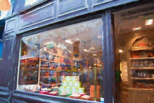 Bicuiterie at Montmartre Streets of Paris