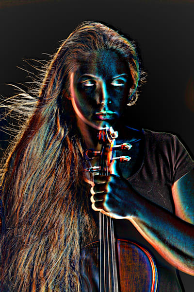 Photograph of a Moonlight Violin Performer 4021