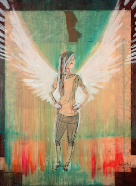 """Angel"" Surrealistic Art for Sale"