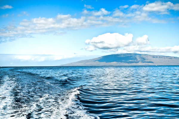 Cloud Over Molokai Hawaii