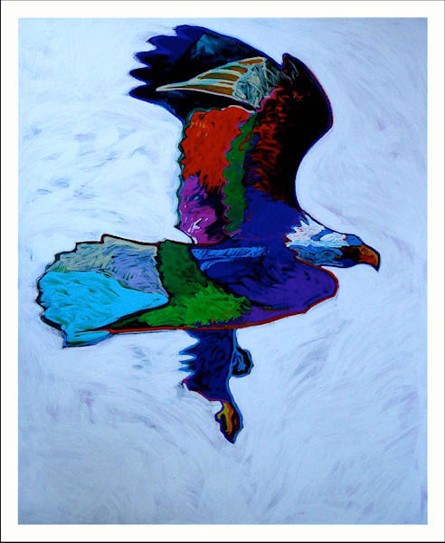 Eagle | John Nieto Art Limited Edition Serigraph