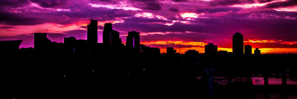 The Sky Was All Purple - Minneapolis Prints | William Drew