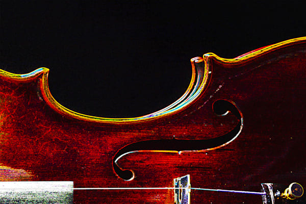 Violin Dark Drawing 5003