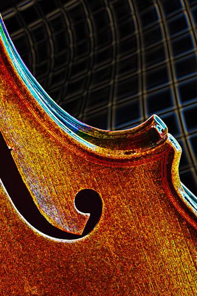 Violin Dark Drawing Fine Art Images