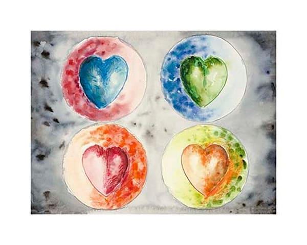 16x20 Hearts #11 Paper | HFA print gallery