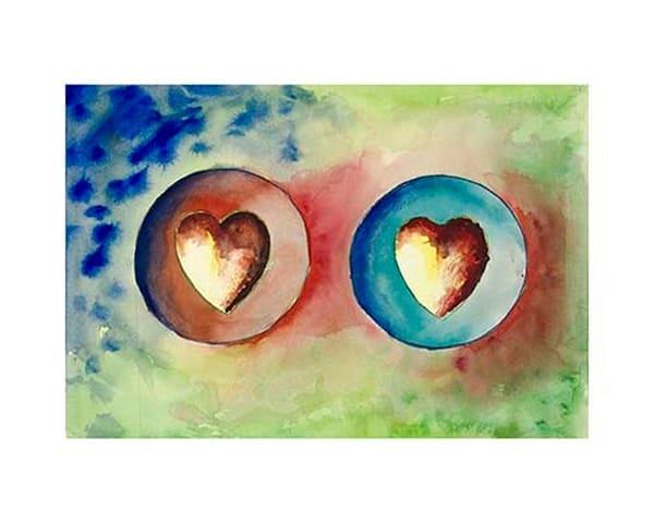 "10x14 Hearts #8 ""Revelations"" Canvas | HFA print gallery"