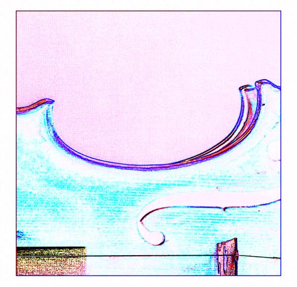 Violin Watercolor Musical Art 6009