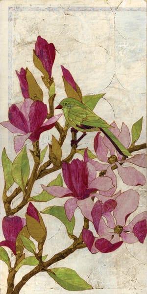 Magnolias Art | Karen Sikie Paper Mosaic Studio