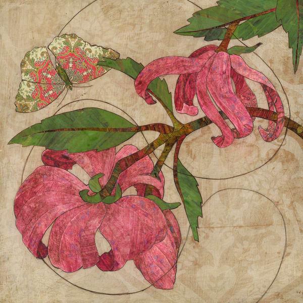 Encircle Art by Karen Sikie Paper Mosaic Studio