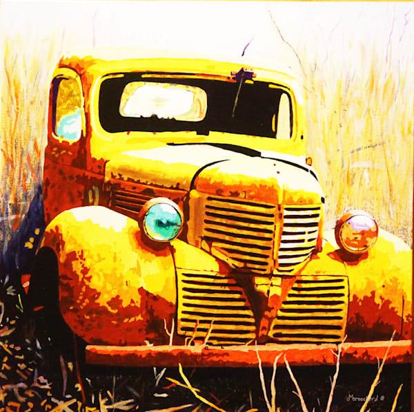 A Little Dodgy Acrylic For Sale As Fine Art by Dennis Broockerd