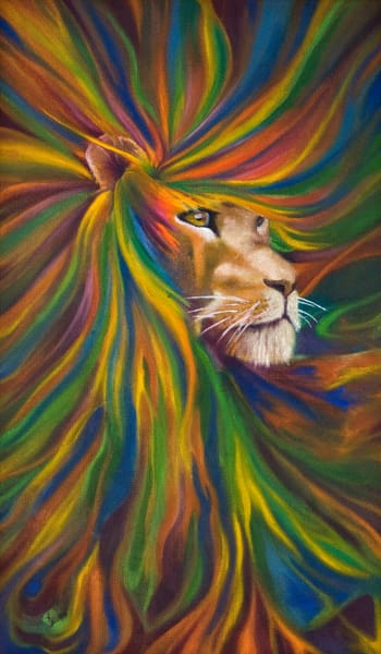 Lion Art | KD Neeley