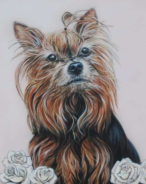 Pet Portrait by Amy Keller-Rempp, Dog
