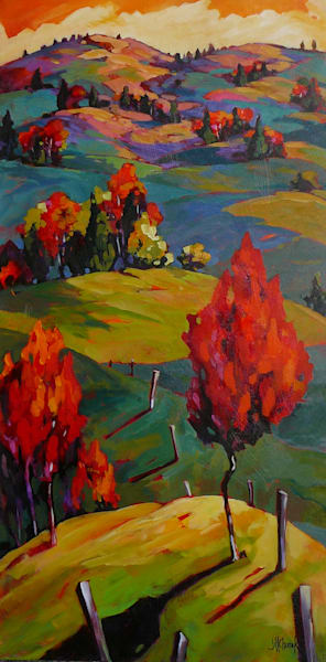 Over Hill 48 x 24