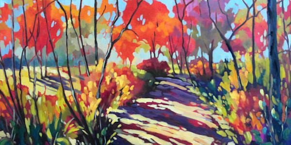 Golden Trail  Art | Jill Charuk Art