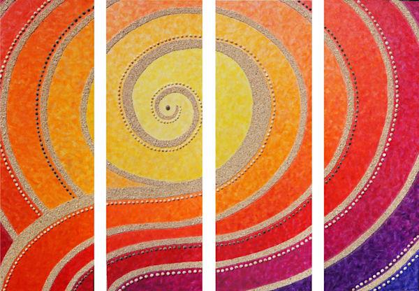 Pukana La (Rising Sun) Art | Jill Lena Ford Art