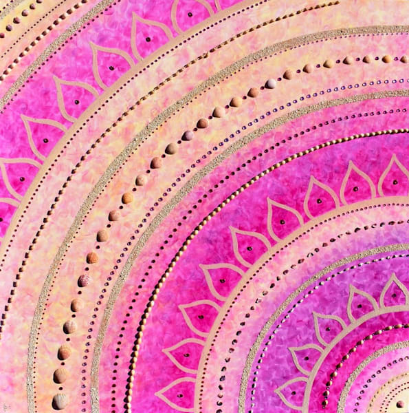 Pink Lotus Art | Jill Lena Ford Art