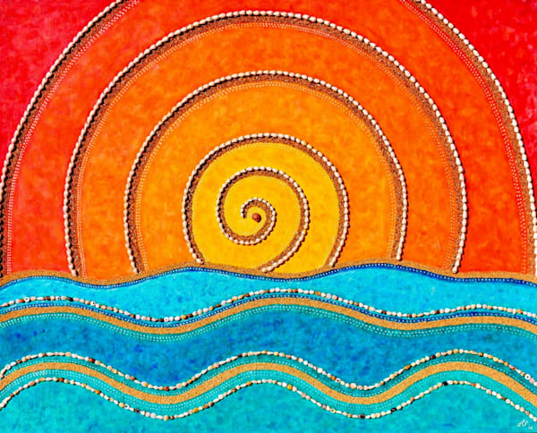 Radiate And Flow Art | Jill Lena Ford Art