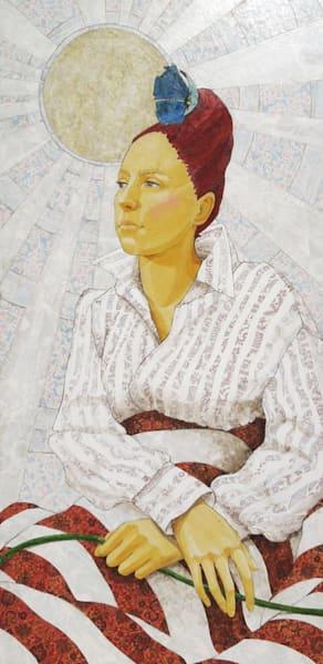 Summer Solstice Art | Karen Sikie Paper Mosaic Studio