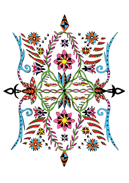 Flower Spirit Art for sale