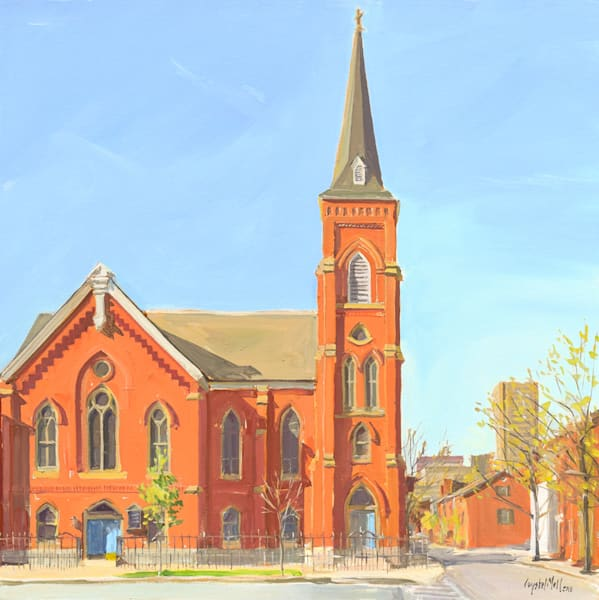 Corner Church / Art Tile