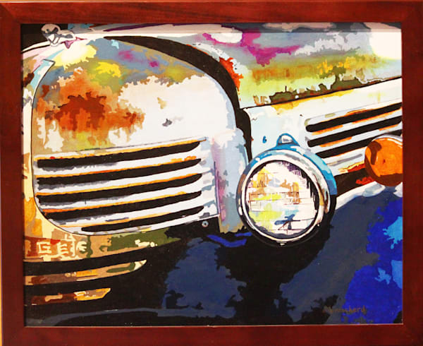 Old But Not Done Acrylic For Sale As Fine Art by Dennis Broockerd.