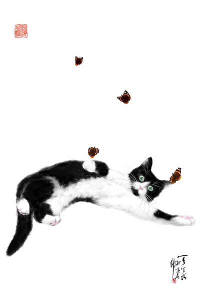 Cat Paintings | Cheng Yan Gallery