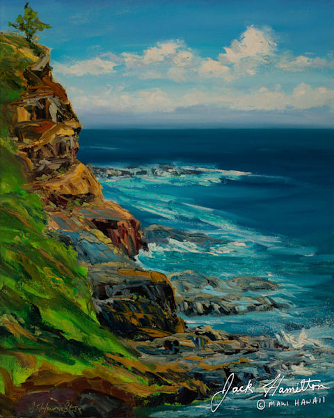 "#1248 ""Cliffs at Haumanu Bay"""