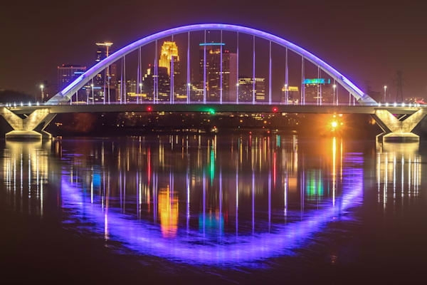 Purple Arch  - Minneapolis Art Prints | William Drew