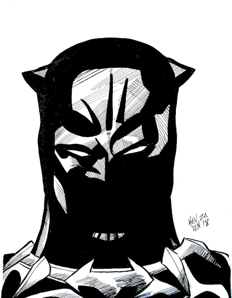 panther the masked king