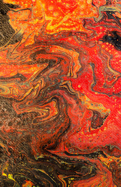 Dirty Acrylic Paint Pour 24 Abstract Photography Reproduction Print