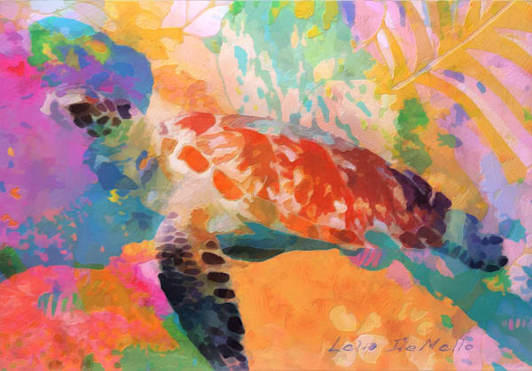 Honu Dream by Lelia DeMello