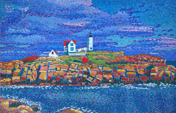 landscapes, lighthouse, maine lighthouses, art, painting, prints