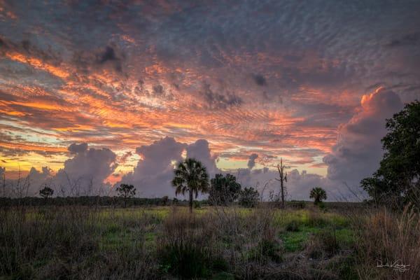 Sunset Cloudscape Photograph