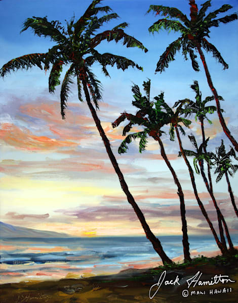 "#1243 ""KAANAPALI SUNSET"""