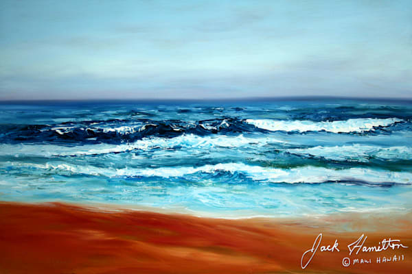 "#1086 ""RED SAND AND WAVES"""