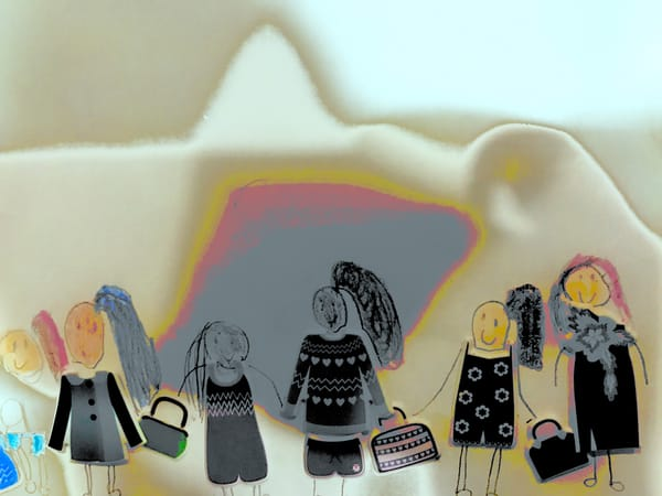 Odeta Xheka Visuals | Monochromatic nursery art for children