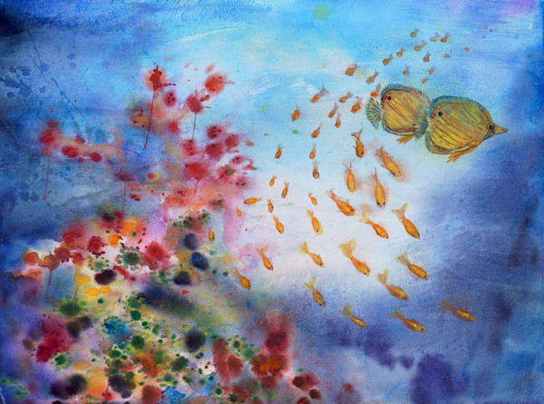 Coral Reef - Fine Art Prints on Canvas, Paper, Metal & More by Irina Malkmus