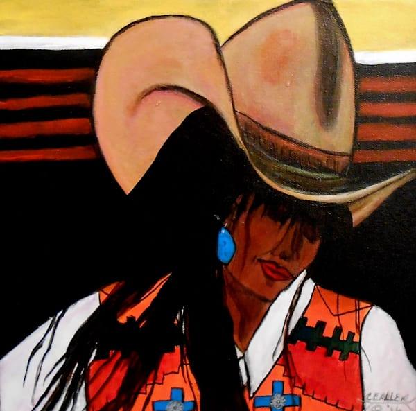 Acrylic Western Art Painting