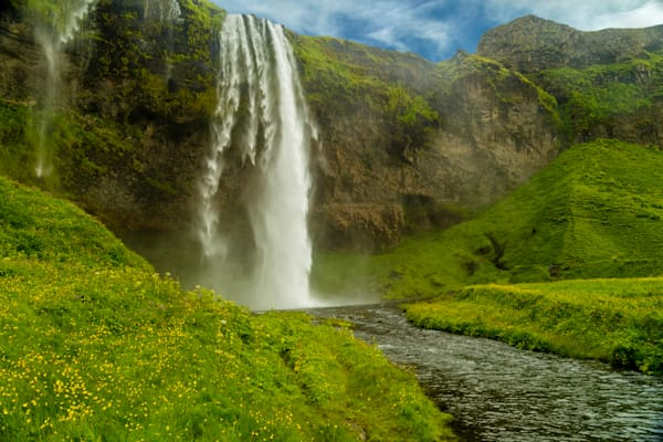 Seljalandsfoss Cascade, South Iceland