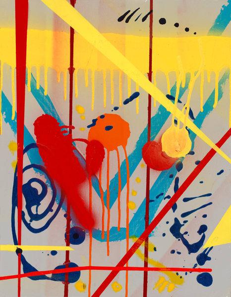 Hazardous Memories- ATR Fine Art- Acrylic painting by Navy Veteran and artist Angelo T. Robinson