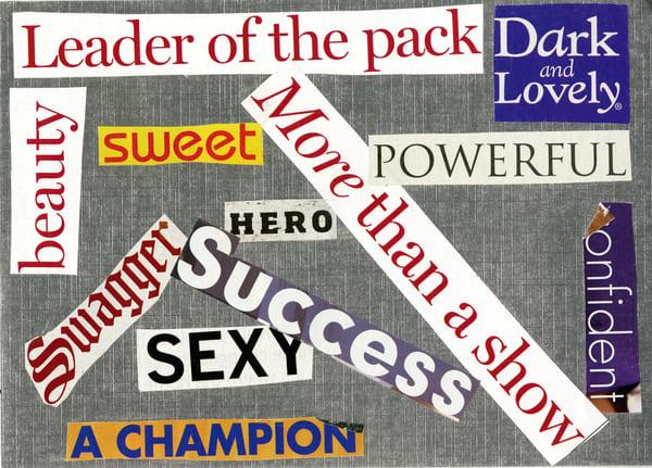Mixed Media Art- ATR Fine Art- Leader of the pack-1000 Words