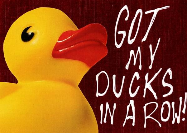Mixed Media Art- Duck art-Veteran Artist- ATR Fine Art