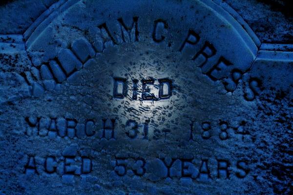 William C Press Gravestone