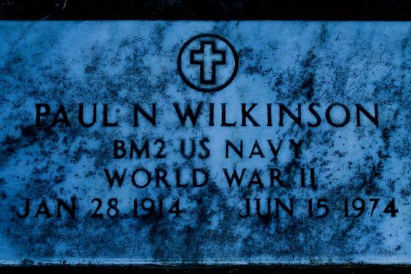 Paul Wilkinson Gravestone